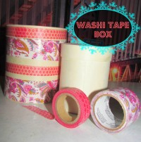 Washi tape box makeover